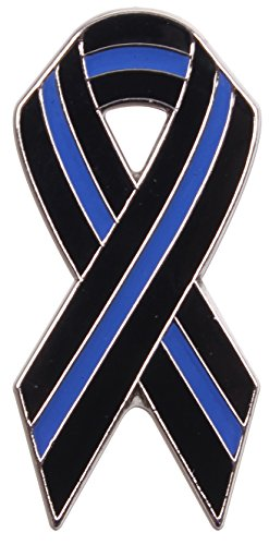 - Rothco Thin Blue Line Ribbon Pin