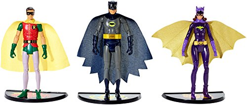 Batman Classic TV Series Batman, Robin and Batgirl Figure 3-Pack]()