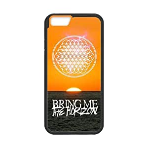 LeonardCustom Protective TPU Rubber Fitted Cover Case for iPhone 6 4.7 inch, Bring Me The Horizon