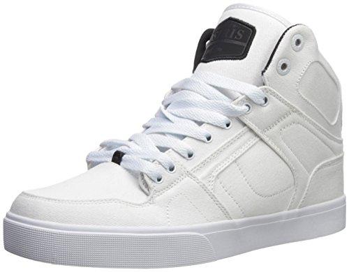 Osiris Men's NYC 83 VLC Dcn Skate Shoe, White/Black/Black, 9 M (Osiris White Shoes)
