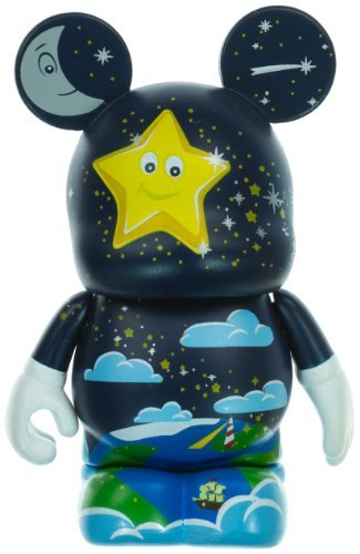 "Starlight Star Bright - Disney Vinylmation ~3"" Nursery Rhymes Series Designer Figure"