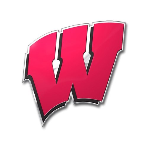 NCAA Wisconsin Badgers Die Cut Color Automobile - Outlets Wisconsin