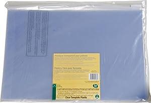 Amazon.com: Dritz Quilting Template Plastic Value Pack, 3-Count : quilting template plastic - Adamdwight.com
