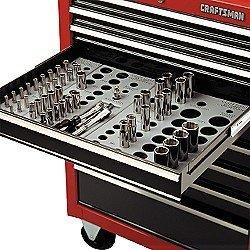 Craftsman Socket Organizer Set, - Organizer Deep Socket