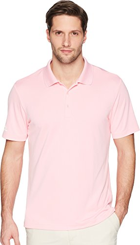 Golf Plain Performance Polo - adidas Golf Performance Polo, Light Pink, X-Large