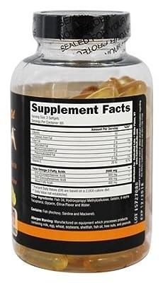 Controlled Labs Orange Oximega Fish Oil, Citrus Flavor, 120 SoftGels