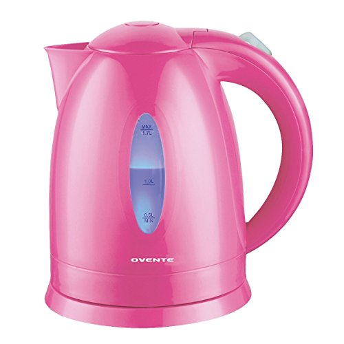 Ovente 1.7 Liter BPA Free Cordless Electric Kettle, Baby Pin