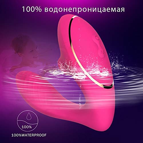 Teetown 10 Speed Sucking Vibrator for Women Wearable Sex Toy Silicone Sucker Vibration Tongue Adult Sex Products