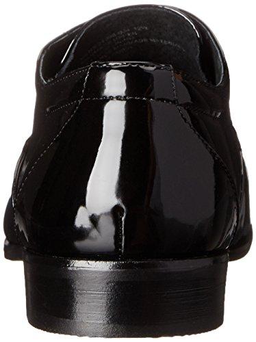 Stacy Adams Mens Gala Cap-toe Smoking Lacci Oxford Shoe Vernice Nera