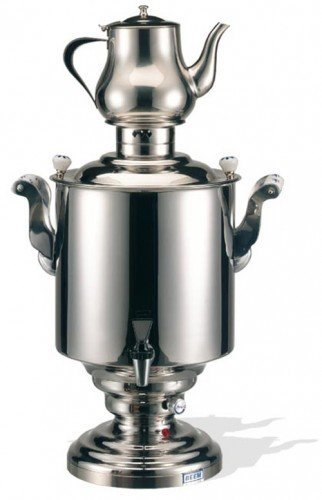BEEM Katharina III, Stainless Steel Samovar, 15 Liters, Silver by BEEM