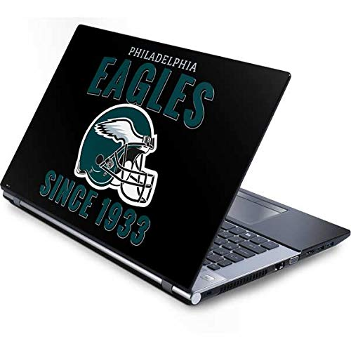 (Skinit Philadelphia Eagles Helmet Generic 15.4in Laptop Skin - Officially Licensed NFL Laptop Decal - Ultra Thin, Lightweight Vinyl Decal Protection)