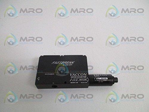 Box St4 (VACCON VP1X-60M-ST4 W/ ST4 FAST BREAK BLOW-OFF VACCUM PUMP/SILENCERNEW NO BOX)