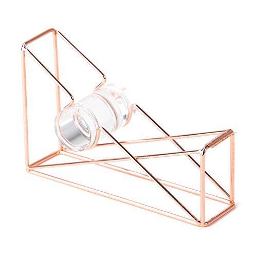 Attrayant U Brands Desktop Tape Dispenser, Wire Metal, Copper/Rose Gold