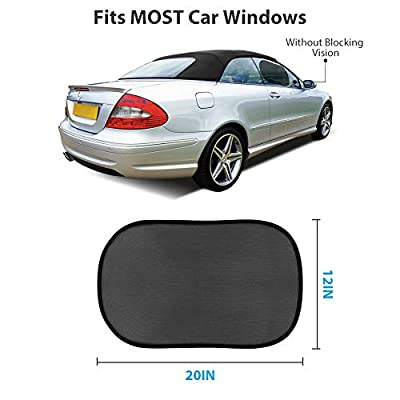 Car Window Shade for Baby, Cling Car Sun Shade for Side Window - 21