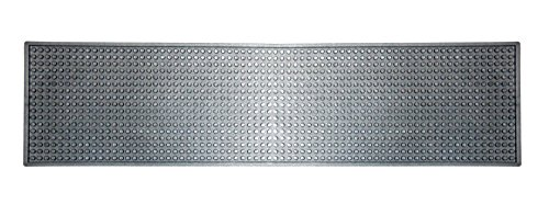 Silver Bar Mat (Long & Narrow) (See Size & Color Options) (Bar Mat Service)