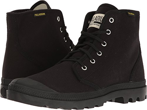 Palladium Men's Pampa Hi Originale Chukka Boot,Black/Black,5 M US