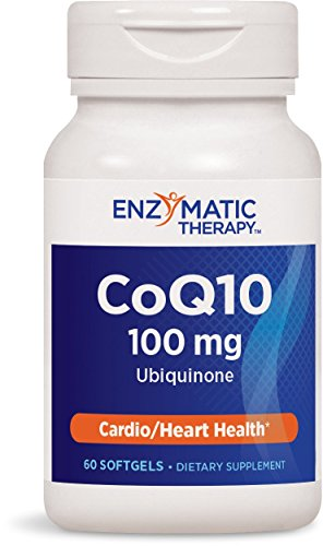 Enzymatic Therapy Coq10 100 Mg, 60 Softgels