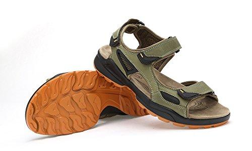 Sandali Da Trekking Sandali Verdi Da Escursionismo Da Donna Open Toe Agowoo