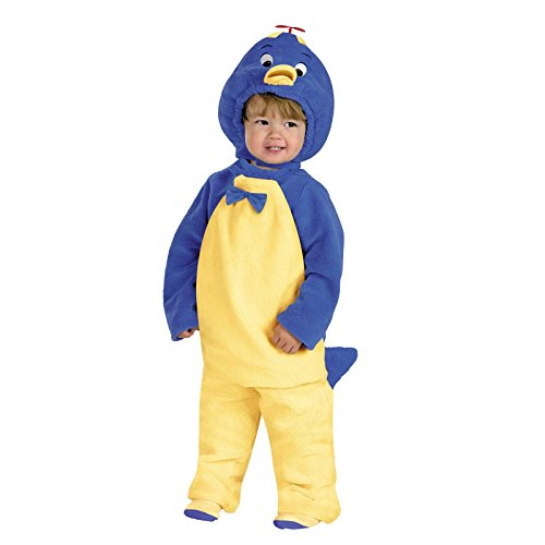 Deluxe Pablo Penguin Costume (Toddler 4T) - Backyardigans Pablo Costumes