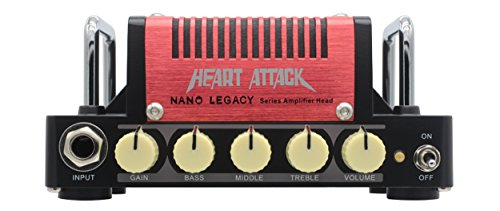 Hotone Heart Attack Mini Guitar Amplifier Head, 5 Watt ()