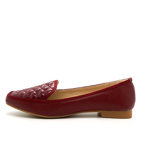 London Footwear - Sandalias con cuña mujer Red
