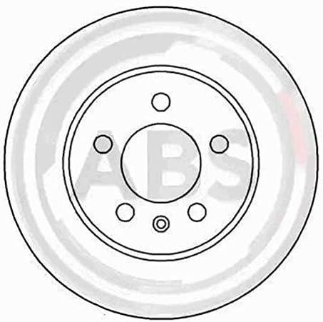Ecommerceparts 9145375024068 Kit 4 pastiglie freno anteriori ECP Abs Kit 2 dischi freno anteriori