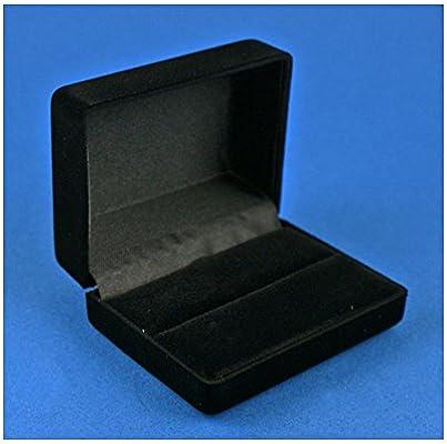 caja de presentación Premium para Gemelos, negro terciopelo L ...