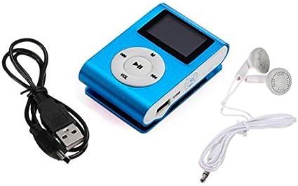 Mini USB Clip MP3 Player LCD Screen Support  Micro SD TF Card Music Media