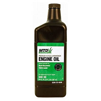 Amazon.com: MTD Genuine Parts Premium – 4-cycle el aceite de ...