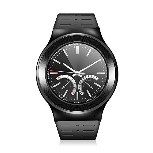 ❤ Smart Watch ❤ S99 GSM 8G Quad Core Android 5.1 Smart Watch with 5.0 MP Camera GPS WiFi (Black, - Gsm 5 Camera Mp