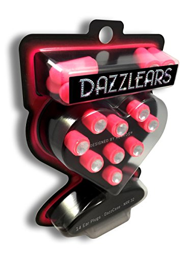 Ear Plugs For Women - DAZZLEARS Noise Cancelling and Hearing Protection Earplugs 7 Pairs ()