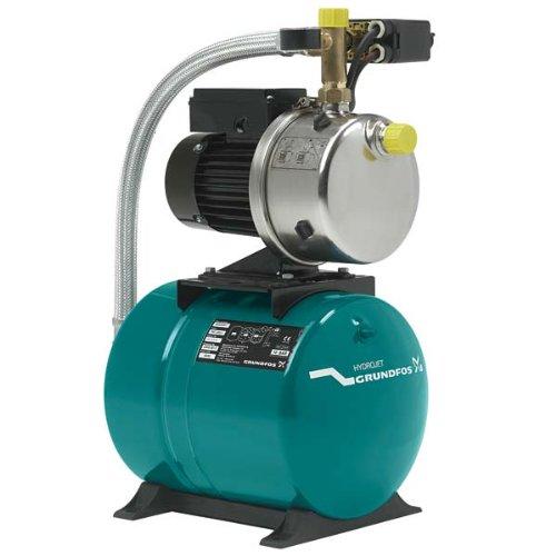 Grundfos-JP-5-24-Hauswasserwerk-Hydrojet-JP-5-mit-24-Liter-Membrandruckkessel