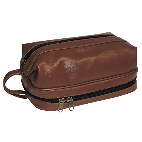 dopp-jumbo-travel-kit-w-zip-bottom-with-travel-bonus-accessories-cosmetic-toiletry-bag-mahogany-one-