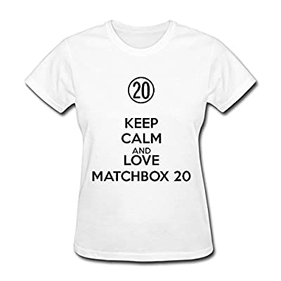 LOTSHIRT Women's Rock Band Matchbox Twenty T-shirt