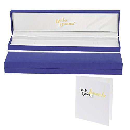 Bella Donna - 80131904B - Bracelet Mixte - Bicolore 9 Cts 375/1000 3.85 Gr