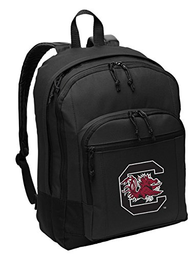 Broad Bay University of South Carolina Backpack Classic Style South Carolina Gamecocks Backpack Laptop Sleeve
