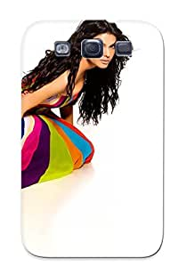 Christmas Day's Gift- New Arrival Cover Case With Nice Design For Galaxy S3- Sherlyn Chopra Bollywood Celebrity Actress Model Girl Beautiful