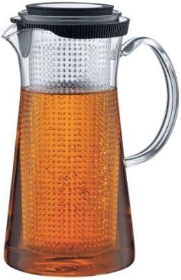 Bodum 10498-10 Bistro - Jarra de Cristal para infusiones, Filtro de Fibra acrílica y Tapa de Silicona y Acero (1,5 l): Amazon.es: Hogar