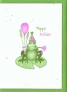 product image for Grow A Note® Hoppy Birthday Frog Cards 4-pack