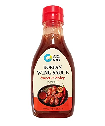 Chung Jung One Premium Korean Sauce / Marinade Spicy Wing Sauce (10.5 oz)