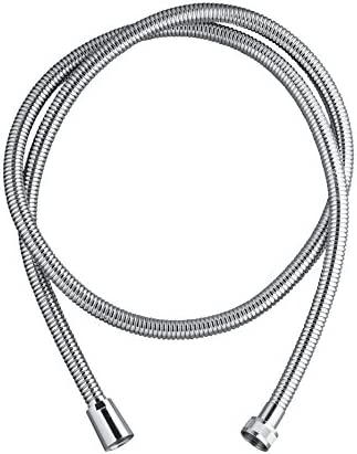 Wirquin Twist 60720799 Shiny Metal Shower Hose 1.5 m