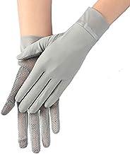 Women Summer Sunblock Glove Girls UV Protection Cycling Gloves Touchscreen Driving Gloves Non-Slip Fingertip F