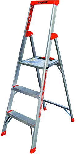 - Flip-N-Lite 300-Pound Duty Rating Platform Stepladder, 5-Foot