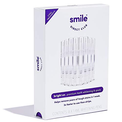 bright on8482 Teeth Whitening  8 Premium Hydrogen Peroxide Whitening Pens Brighten 3x Faster Than Strips  12 Month Supply Mint