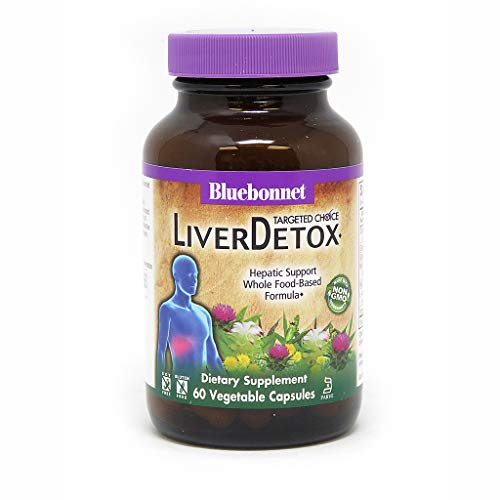 Bluebonnet Nutrition Targeted Choice Liver Detox Herbal Blend, 60 Count