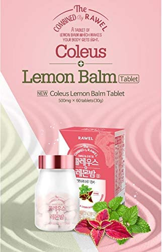 Rawel Korea Super Food Best Easy Diet Coleus Forskohlii Lemon Balm 60 Tablet