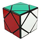 Skewb Speed Magic Cube Puzzles, YKL World ABS Ultra-smooth Professional Speed Twist Cube Smart Brain Teaser Toy Game for Kids Gifts Black