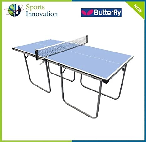 Mariposa arranque niños Tenis mesa azul: Amazon.es: Deportes y ...