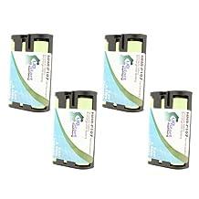 4x Pack - RadioShack 23-499 Battery - Replacement for RadioShack Cordless Phone Battery (700mAh, 3.6V, NI-MH)