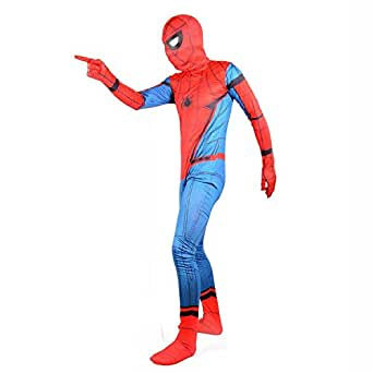 Amazon.com: Wraith of East Red Superhero Suit Party